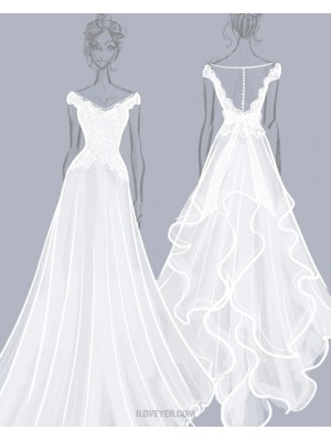 Custom Made Wedding Dresses Start At $150, Get A Custom Bridal Dress At Affordable Price Now! Just Provide The Pictures You Want To Make, Then You Will Get The Unique Dress For Your Big Day.